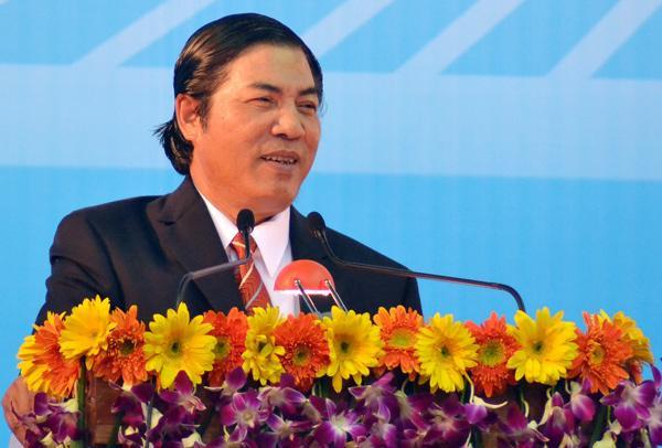 Trưởng ban Nội chính Trung ương Nguyễn Bá Thanh